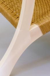 Leaf chair rear leg detail