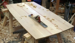 Dining Table in the workshop