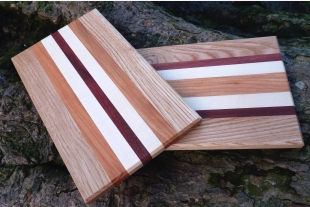Cheeseboards 25cm of ash, wild cherry, sycamore and karri - Nov-Dec only