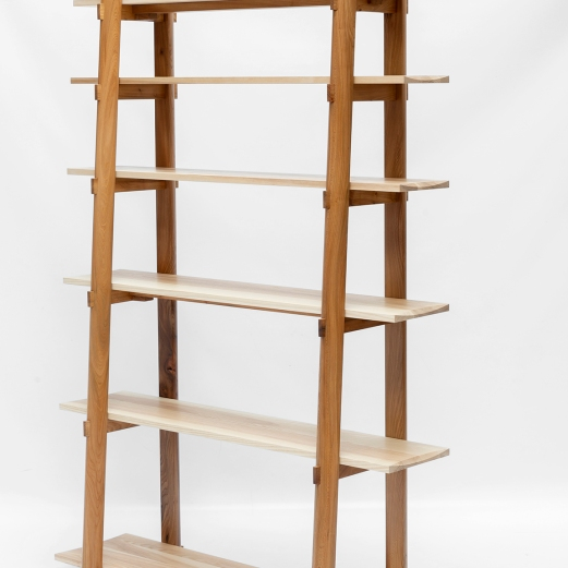 Korean shelves elm & ash Sam Ring Furniture