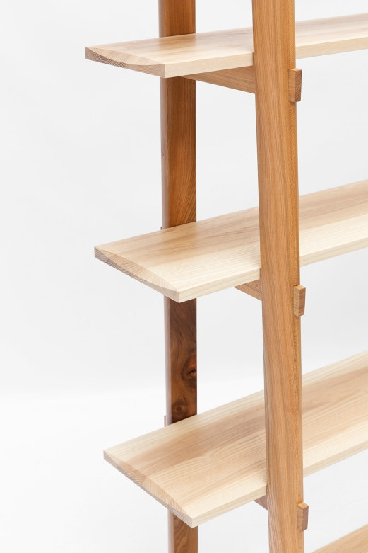 Korean shelves elm & ash Sam Ring Furniture