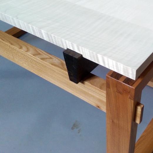 Split Top Coffee Table ripple sycamore & elm Sam Ring Furniture